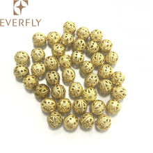 Low price decorative brass beads, loose jewelry beads for jewelry making