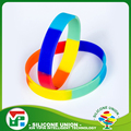 Exquisite activity color noctilucent custom silicone sport reflective wristband