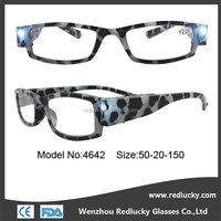 Wholesale fashinable reading glasses with long temple