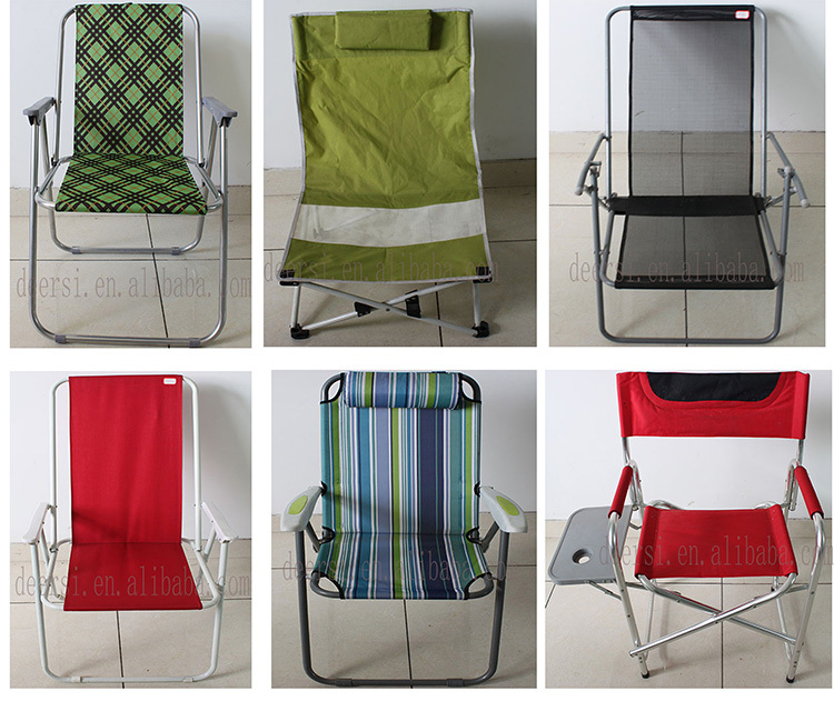 Factory Price Net Cloth Folding Beach Chair Fabric