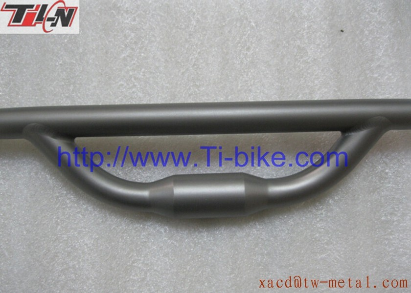 OEM titanium bicycle parts custom mountain bike handlebar 29er mtb bicycle handlebar