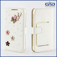 [GGIT] Wholesale Cell Phone Accessories Luxury Diamond Universal PU Leather Cover Case