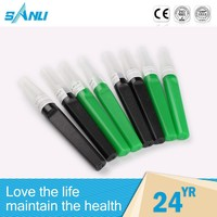 sterile personalized rubber sleeve for blood drawing needle