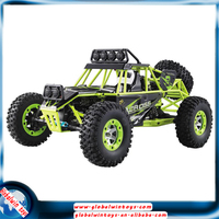 Wltoys 12428 1/12 4wd driving remote control electric car,2.4g cross country racing rc monster truck with LED lights