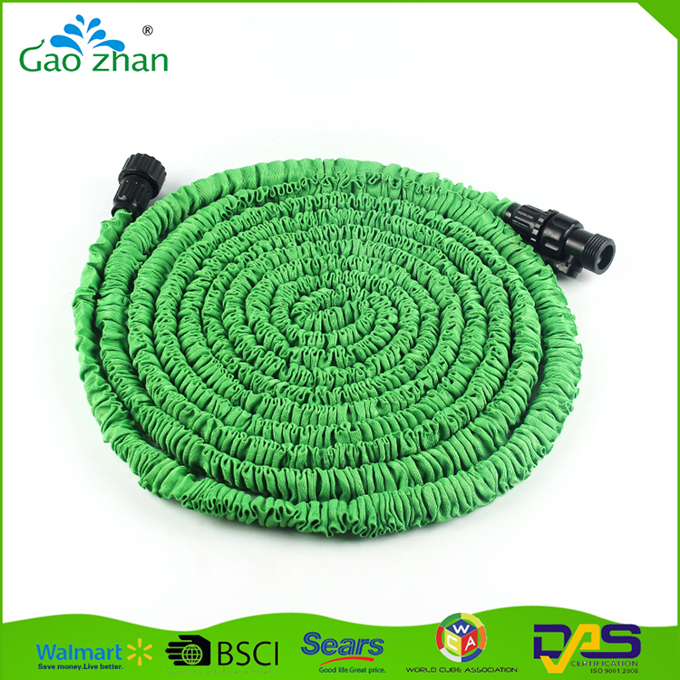 Low price best quality Rubber / Latex brass fitting expandable garden water hose