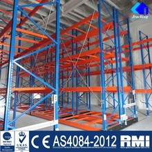 High Densiity Cold Warehouse Mobile Steel Rack Mobile shelf