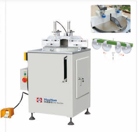 Single Head Arbitary Angle Cutting Saw / Aluminum Window Cutter Machine