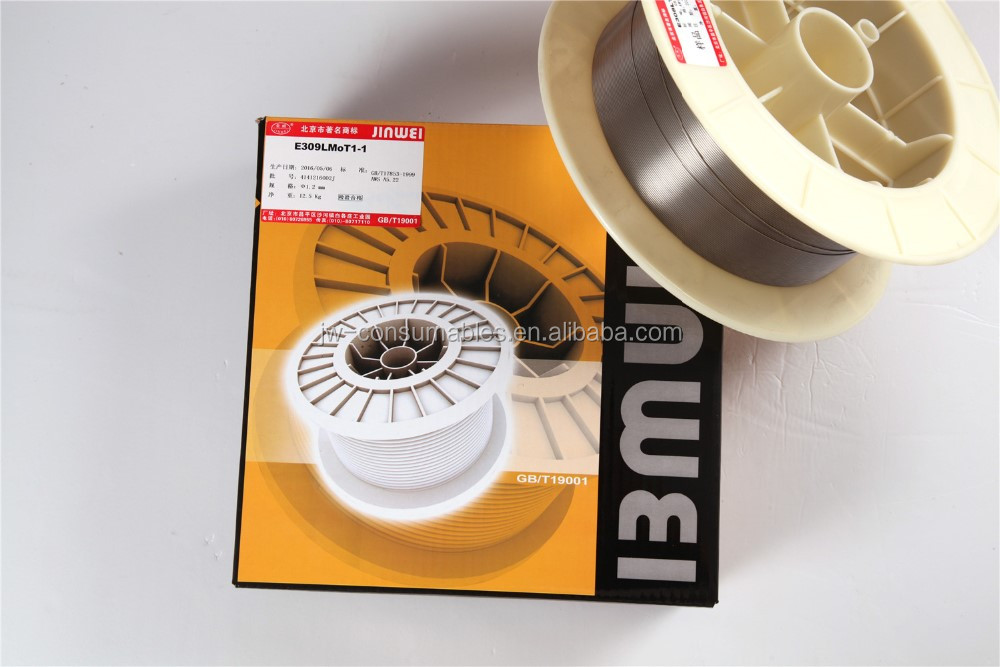 High quality AWS ER 308LT1-1/309LT1-1 stainless steel mig welding wire 1.2mm