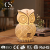 BSCI certified manufacturer animal owl shape table lamp