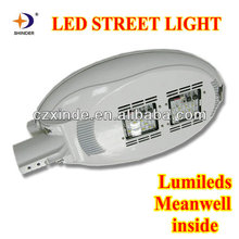 lumileds led chips & Meanwell led driver 70w led street light luminaire