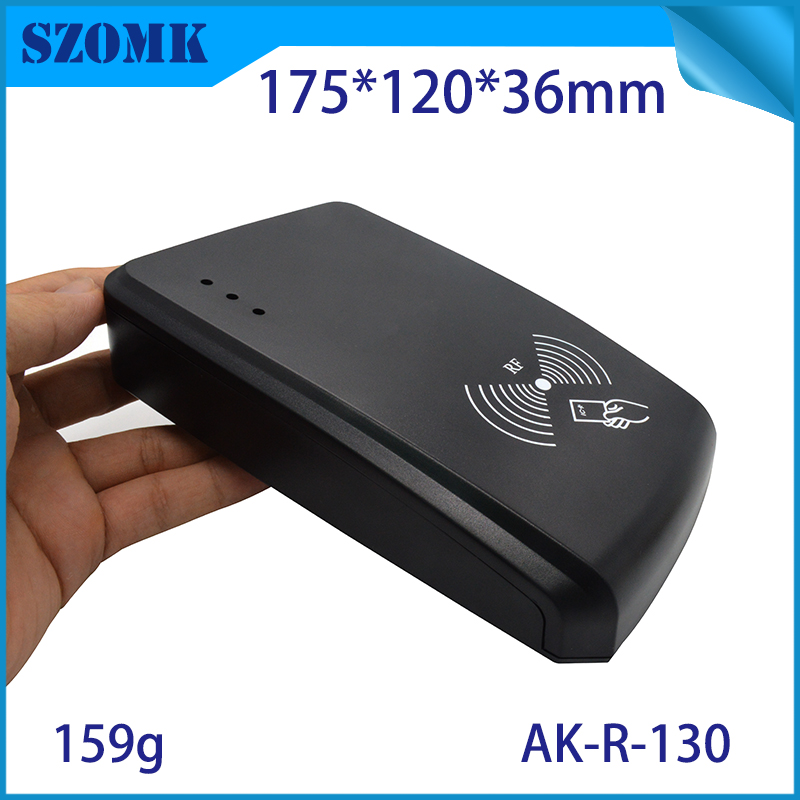 SZOMK 2016 New plastic electronic control boxes project industrial ic card read enclosure for pcb board