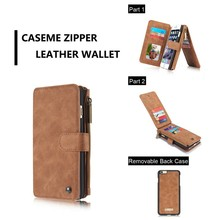 custom mobile phone case for iphone 8 7s 6plus, Wallet Leather Case for iphone 7