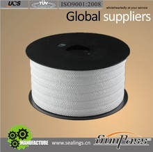 Stuffing Box Oil And Gas Food Grade 100% Pure PTFE Teflon Gland Packing