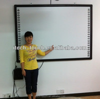 "PROMOTION 2015 Newest 82"" 10 TOUCH interactive whiteboard for school"