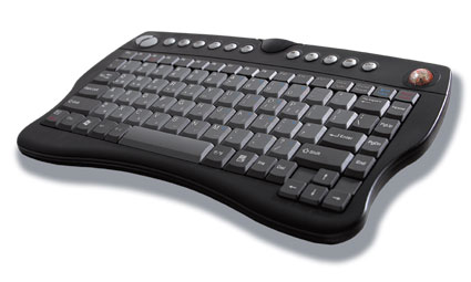 Optical Trackball Wireless Keyboard
