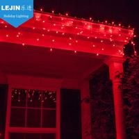 Brand new red christmas light source With high quality wedding decoration