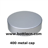 400 410 silver metal cap smooth side and top unishell shape