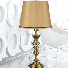 2015 New design simple brass beside D300 size table light