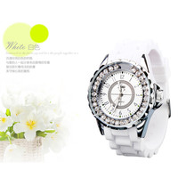 Silicone Wristband jelly Watches for Ladies