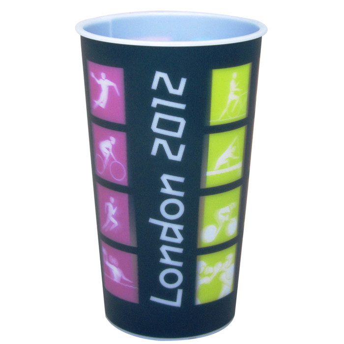 Factory Supply Printed Best Price 3D Lenticular Glow In The Dark Plastic Cup