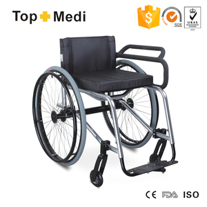 Foshan Fencing Leisure Sports Manual Remote Folding Standing Handicapped Wheelchair for sale