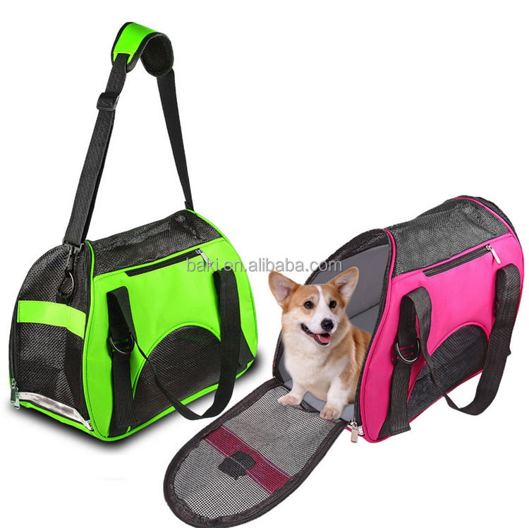 New Arrival Fashion Pet Dog Carrier Handbag Travel Breathable Outdoor lightweight Shopping Dog Bag