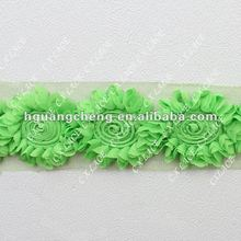 new sunflower chiffon flowers for newborn hair bands