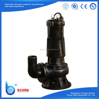 Centrifugal non-clogging WQ series submersible sewage pool pump