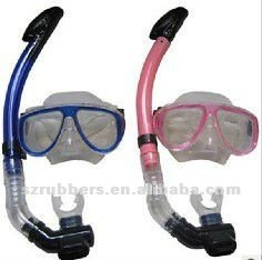 Fashional adult's diving snorkel and mask