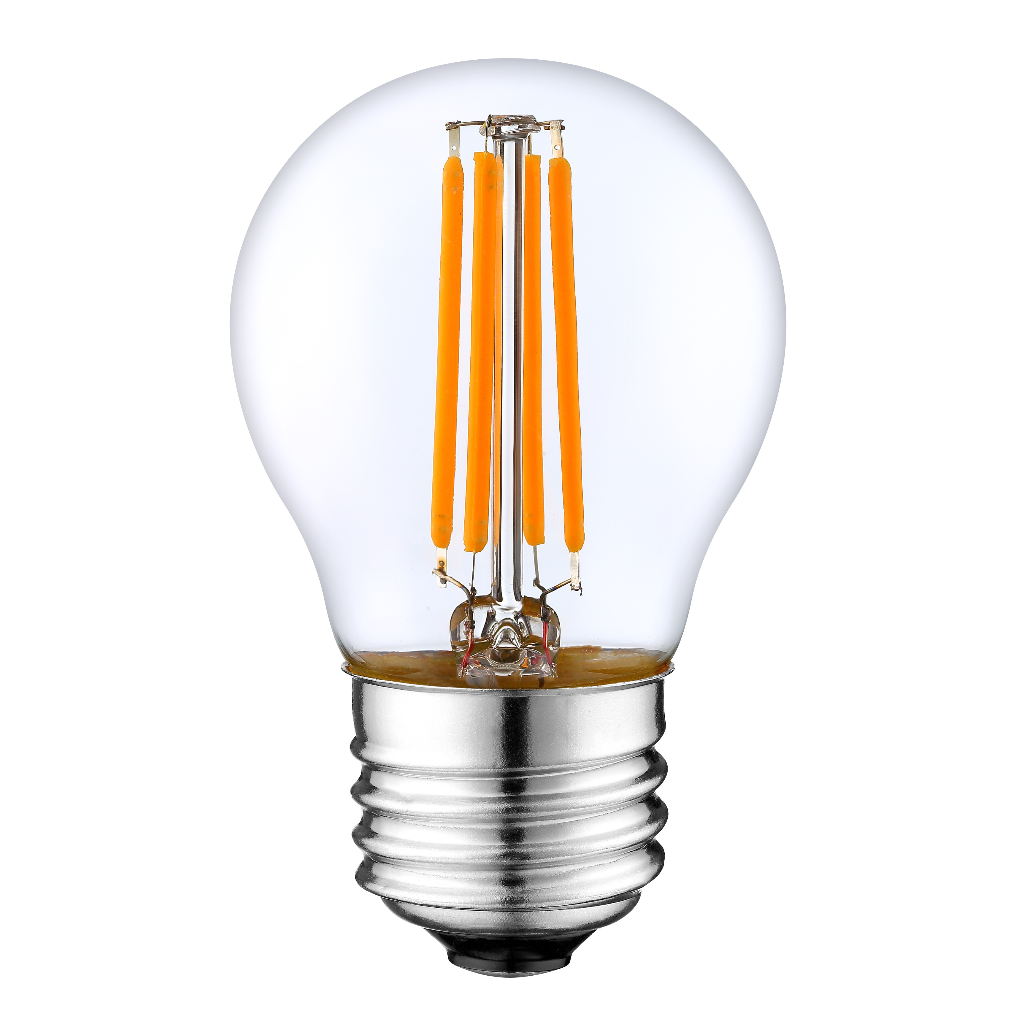 2 years warranty 2w 4w P45 G45 low voltage DC 3V 12v 24V led filament <strong>bulb</strong>