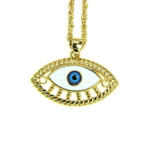 Fashion latest turkey blue eye jewelry,blue eye necklace (NK-046)