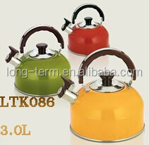 LTK086 2016 colorful water boiling kettle