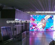 indoor led display big video screen p8 gas station led display