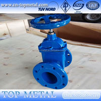 cast iron handwheel non-rising stem gate valve