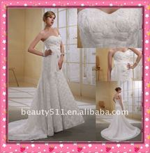 Astergarden Latest One Shoulder Elegant Factory Directly Sell Crown as Gift Mermaid Wedding Gown WZS144