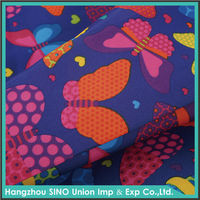 100% polyester digital printed bedsheet fabric