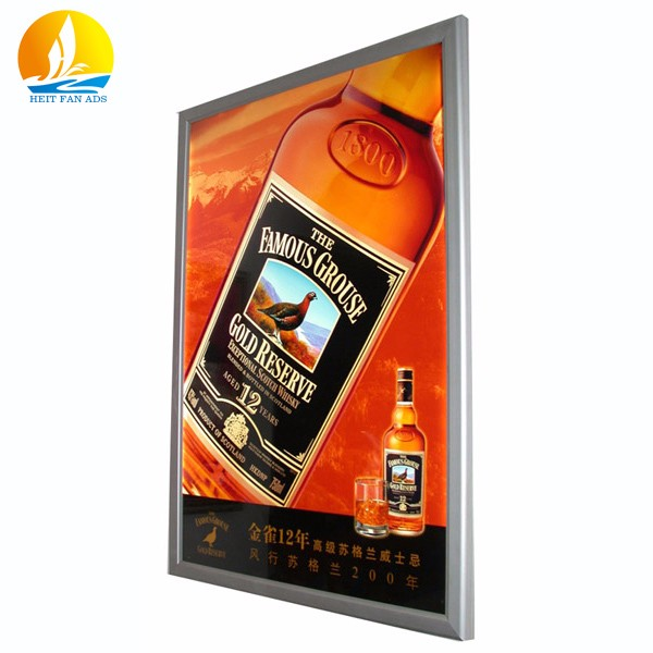 outdoor advertising light box brightness grade light box menu board high quality aluminium profile light box