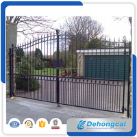 Gates and steel fence design, steel door designs, wrought iron gate(factory sale and export)