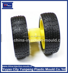 Robot tracing line trolley wheels Rubber wheel tires 3V-6V DC gear Robot-tire mould/ mold