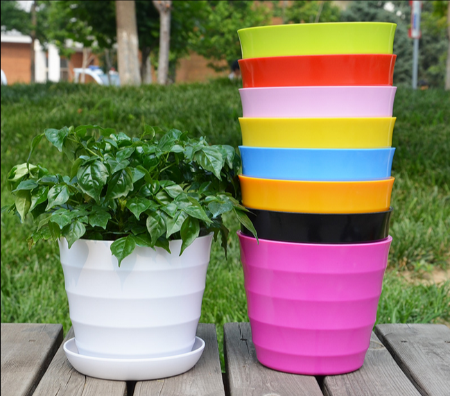 Cheap Price Large Waterproof PP Plastic flower pots