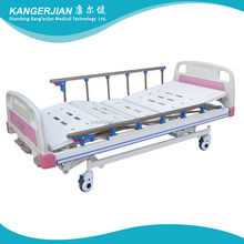 A3 Nursing home supplies medical equipments ABS hospital electric bed price