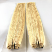 Good Thick Blonde 20 inch Virgin Remy Brazilian Human Hair Weft Weaving