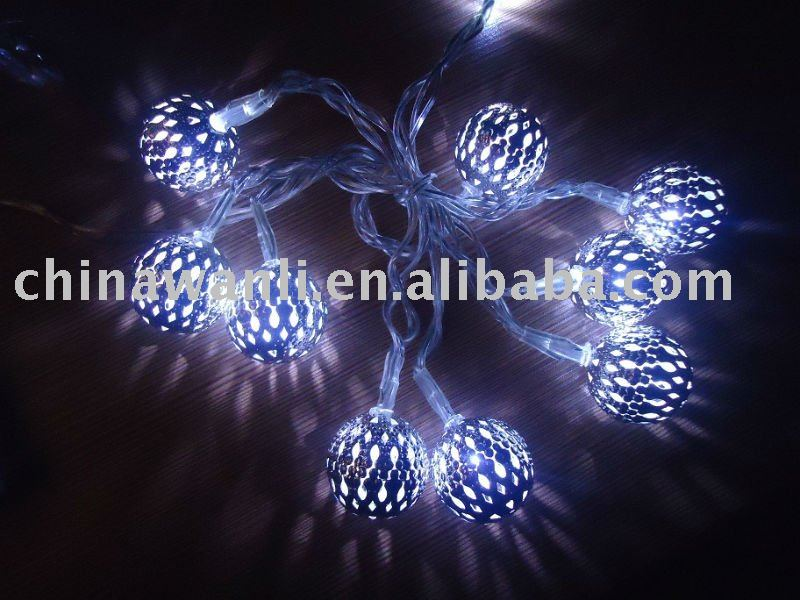 battery operated LED christmas ball light