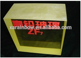 x-ray shielding lead glass x-ray radiation protection safety lead glass fire rated swing door