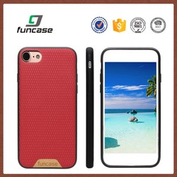 2016 Newest arrival pu leather back cover case custom printed cell phone case for iphone 7