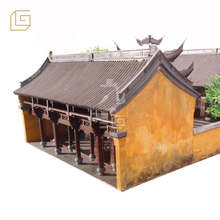 Hand made realistic delicate miniature scale building and people models in scene recovery ,architectural model making