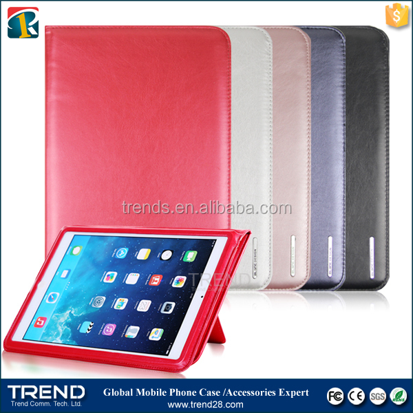 alibaba express protective kickstand leather case for ipad mini