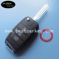 TOPBEST new style flip car key case of K3 remote key