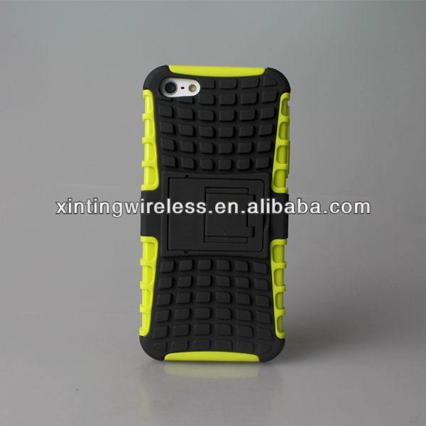 tpu+pc kickstand hybrid case for <strong>Apple</strong> for iphone 5