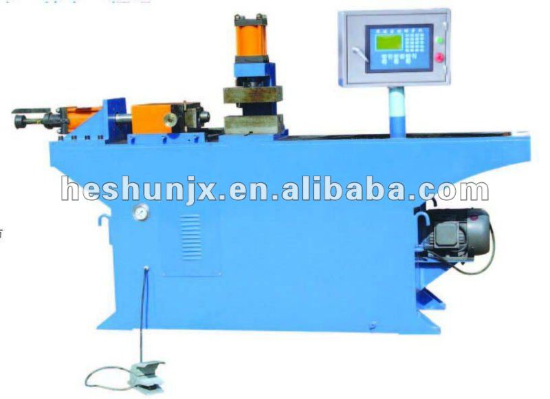 Stainless steel pipe end forming machine
